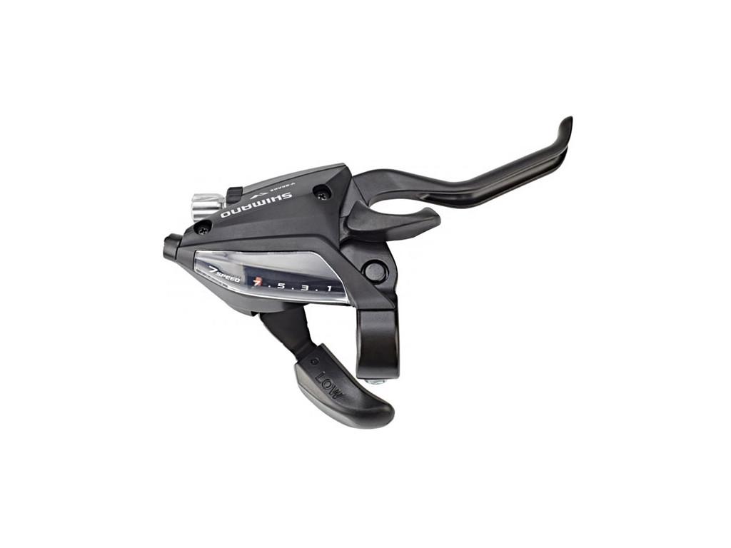 Řadící + brzdová páčka SHIMANO STEF 500 7sp.  V-brake pravá