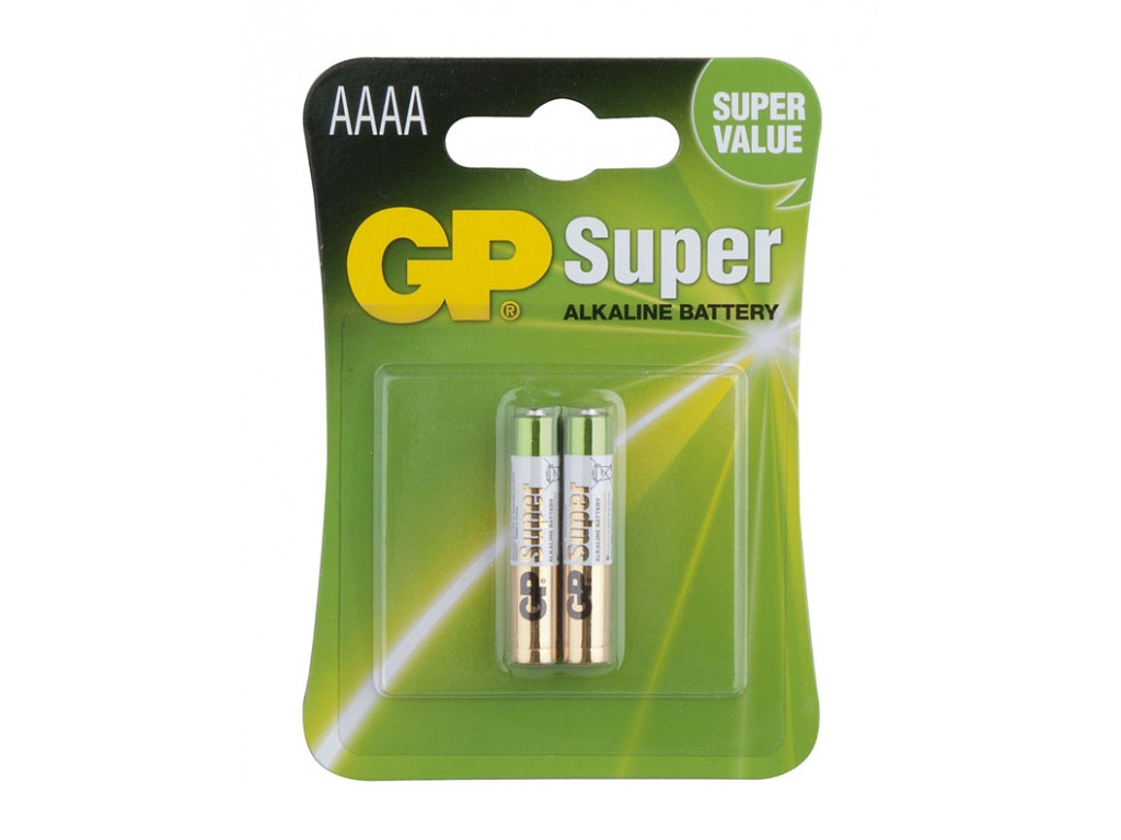 Baterie mikrotužková AAAA (2ks)