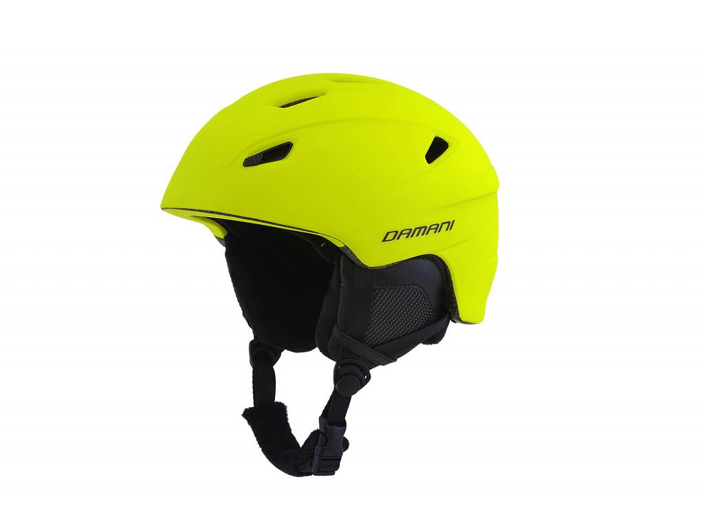 Lyžařská helma Damani - Gemini A03 - žlutá