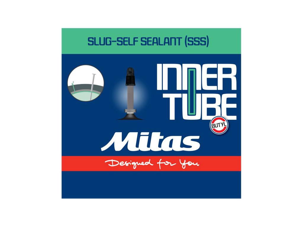 Duše MITAS 28/29x2,1-2,5  (54/62-622/635) s tmelem FV 47mm v krabičce