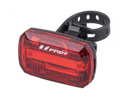 Světlo zadní PRO-T Plus blikací COB diody