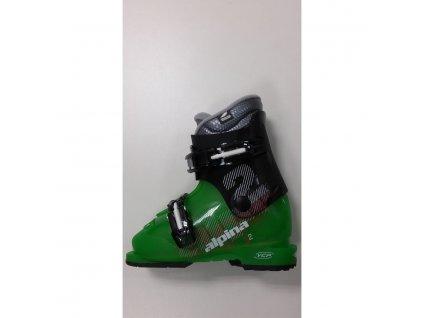 Dětské lyžařské boty Alpina J2 - black/green