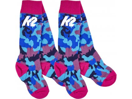 k2 all mountain junior socks 2 pak uv