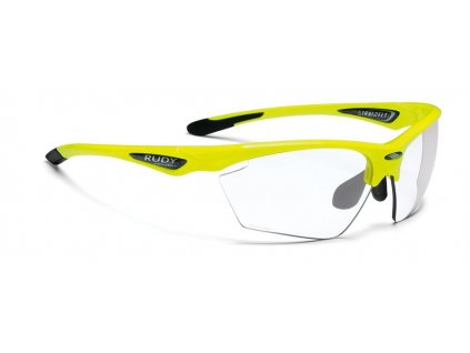 rudy project stratofly yellow fluo gloss photoclear