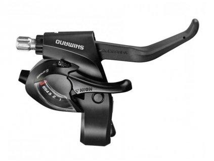 Řadící + brzdové páky SHIMANO STEF 500 3x7 kolečko V-brake