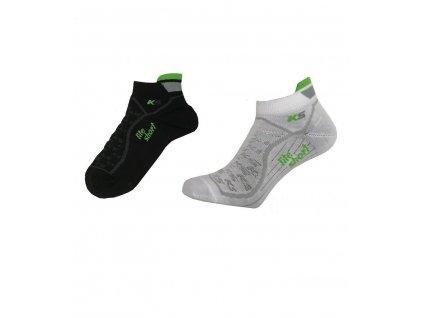 Funkční ponožky Pondy KS-Lite Short nízké černé