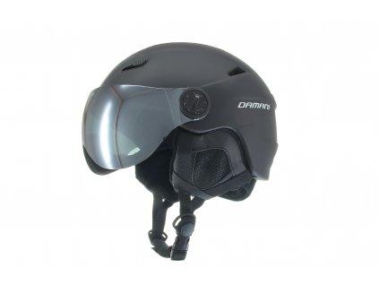 Lyžařská helma Damani - Vision A01 - černá