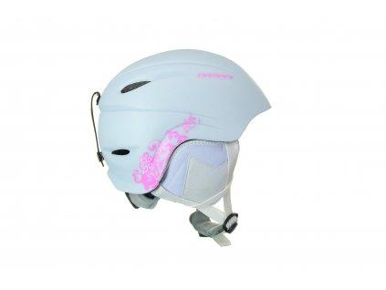 Dětská lyžařská helma Damani - Lion C01 - bílá