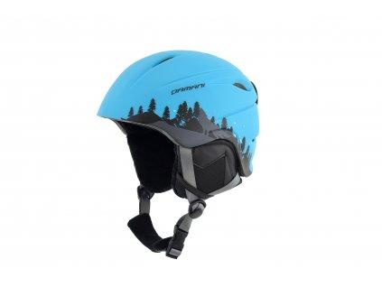 Dětská lyžařská helma Damani  - Lion C01 - modrá
