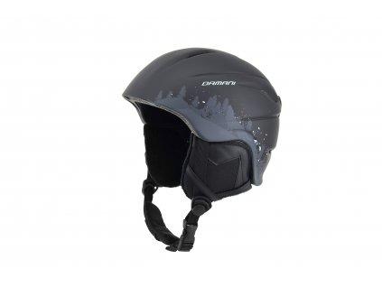 Dětská lyžařská helma Damani - Lion C01 - černá