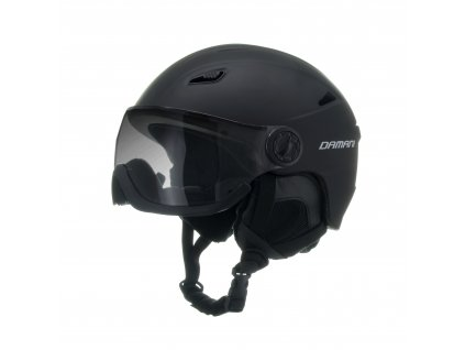 Lyžařská helma Damani - Vision Fotochromatic A05 - černá