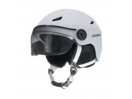Lyžařská helma Damani - Vision Fotochromatic A01 - bílá