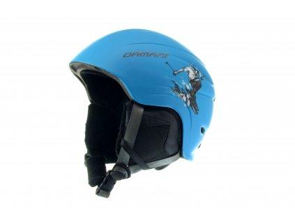 Dětská lyžařská helma Damani - Skier C02 - modrá
