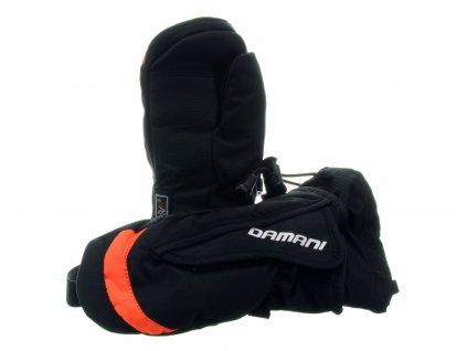 Dětské palčáky Damani RC02 - reflexní oranžová