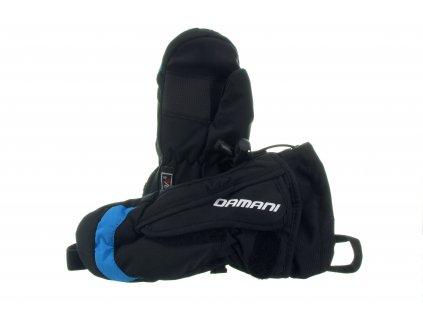Dětské palčáky Damani RC02 - reflexní modrá