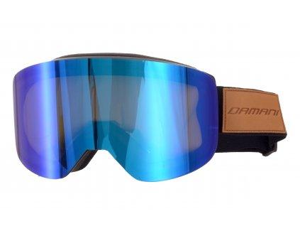 Magnetické brýle pánské Damani - GA03 - černá (Sada=1x obručka, 1x zrcadlové sklo Revo, 1x rozjasňující sklo)