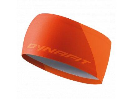 Dynafit Performance 2 Dry Headband fluo orange