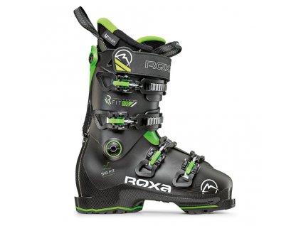 Pánské lyžařské boty ROXA RFIT 100 - GW Black/black/green