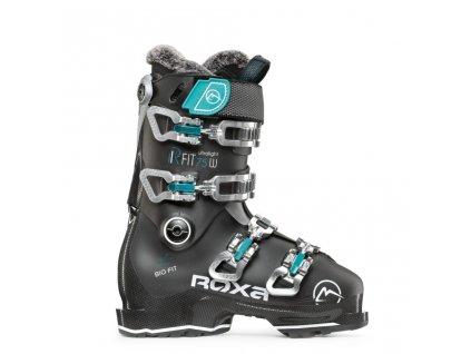 Dámské lyžařské boty ROXA RFIT W 75 - GW Black/black/acqua