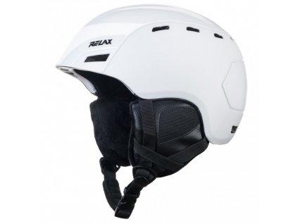 relax combo lyzarska helma bila