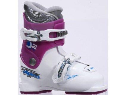Dětské lyžařské boty Alpina J2 - bílá/růžová