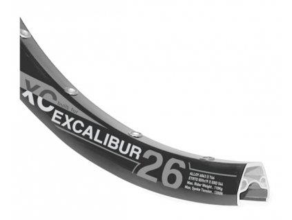 Ráfek RODI Excalibur XC 559x19 32d. černý