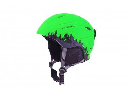 Dětská lyžařská helma Damani - Lion C01 - zelená