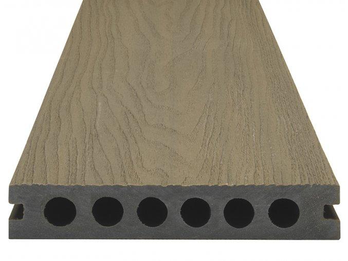 WPC SHIELD EVO Forest - Plastové terasové desky, prkna