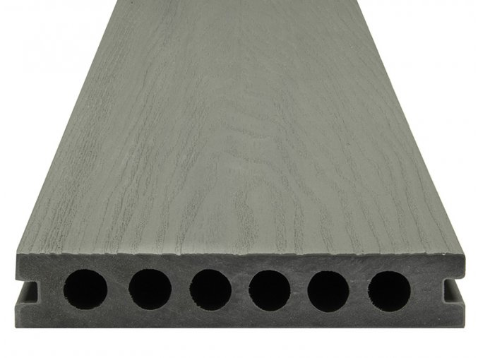 WPC SHIELD EVO Metal - Dřevo-plastové terasové desky, prkna