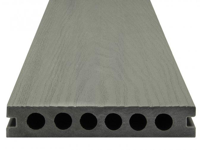 WPC SHIELD EVO Metal - Plastové terasové desky, prkna