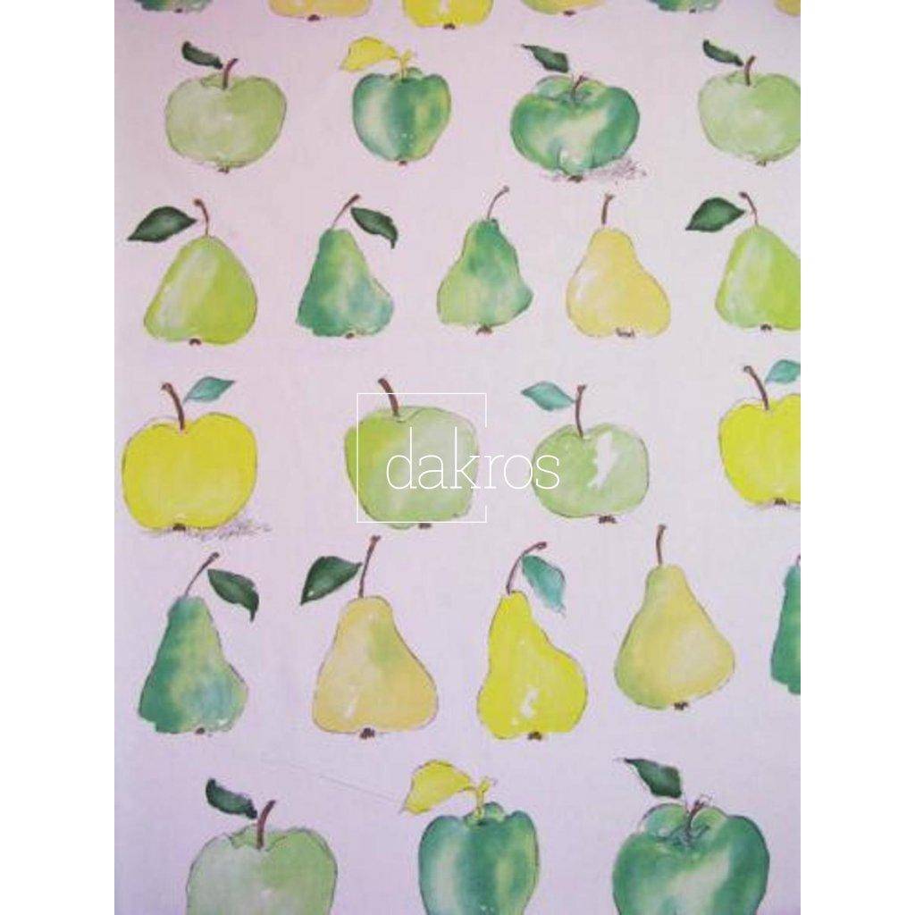 Bavlna Jablka a hrušky