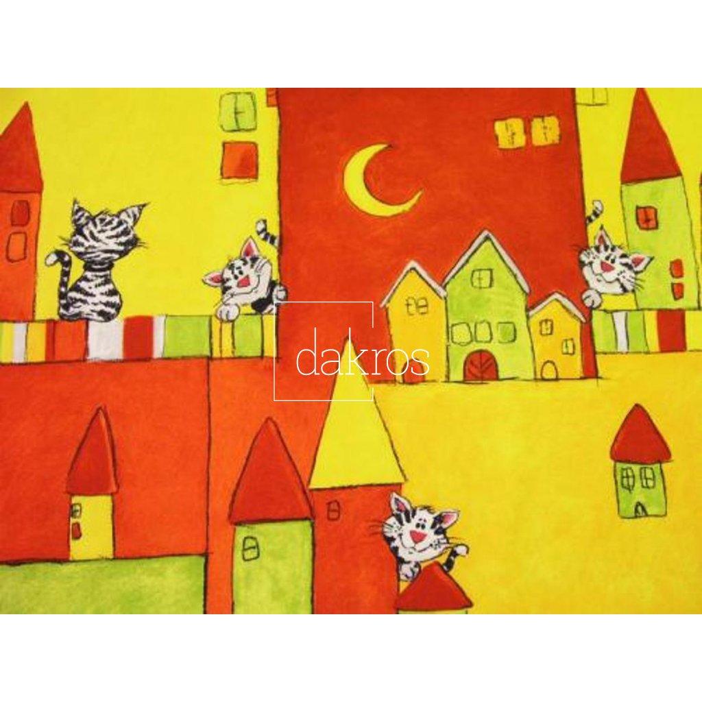 Bavlna s kočkami