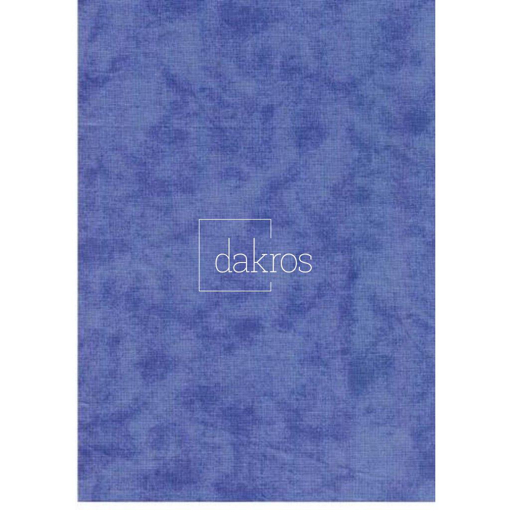 Bavlna Modrá mramor, šíře 280 cm