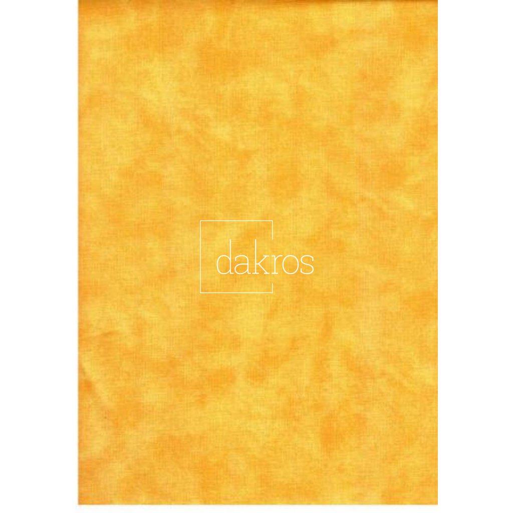 Bavlna jednobarevná žlutá