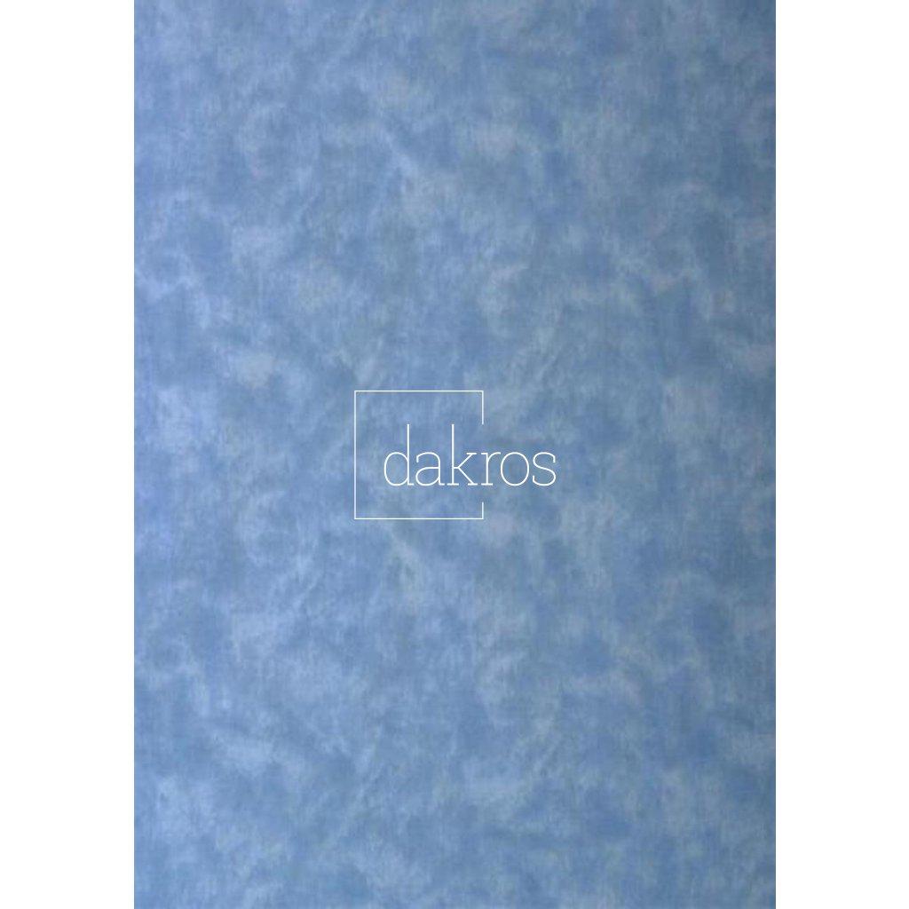 Bavlna Modrá světlá mramor