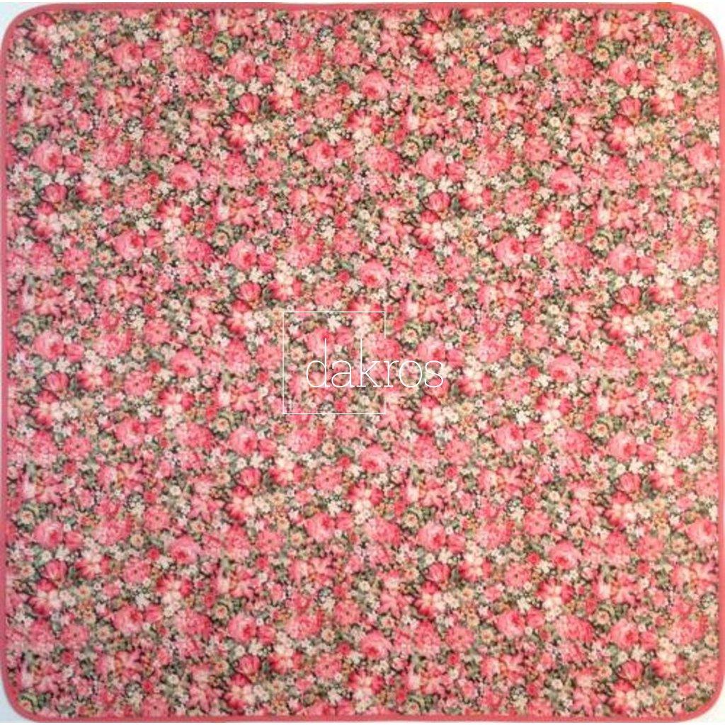 Ubrus květy drobné