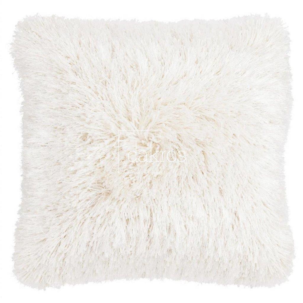 Polštář Multi fluffy bílý