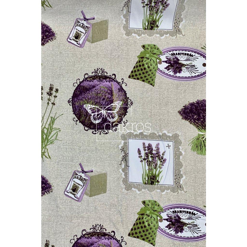 Bavlna Levandule Provence