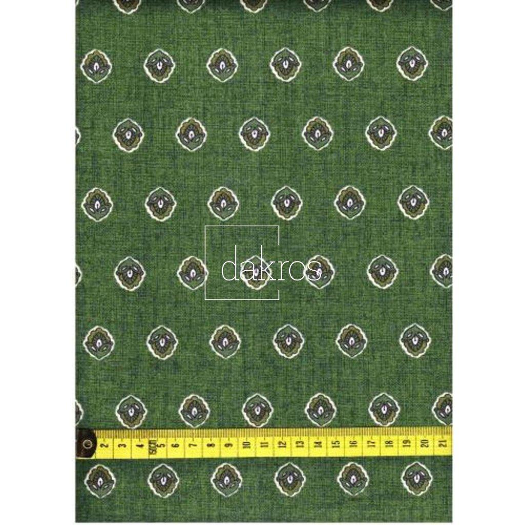 Bavlna Olivy zelené základ