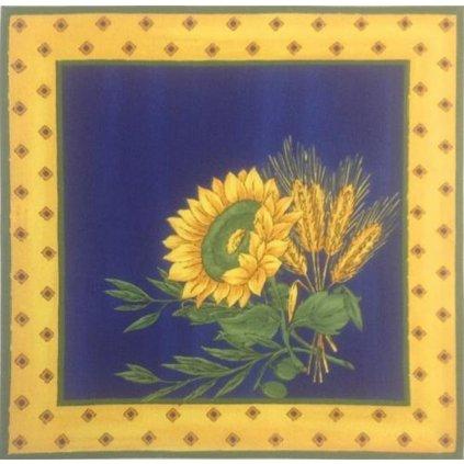 Prostírání slunečnice modrá