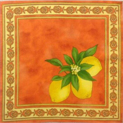 Prostírání Citron oranžový