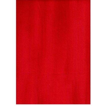Bavlna červená žíhaná