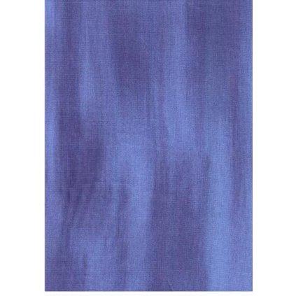 Bavlna jednobarevná modrá