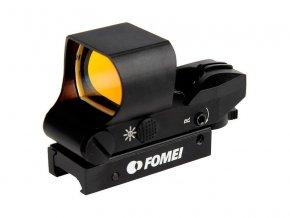 Fomei 1x28x40 Red Wide kolimátor (19-21mm)  + LED svítilna zdarma