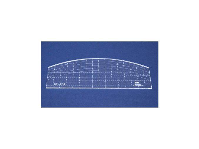 Quiltovací pravítko - Oblouk NP-R09