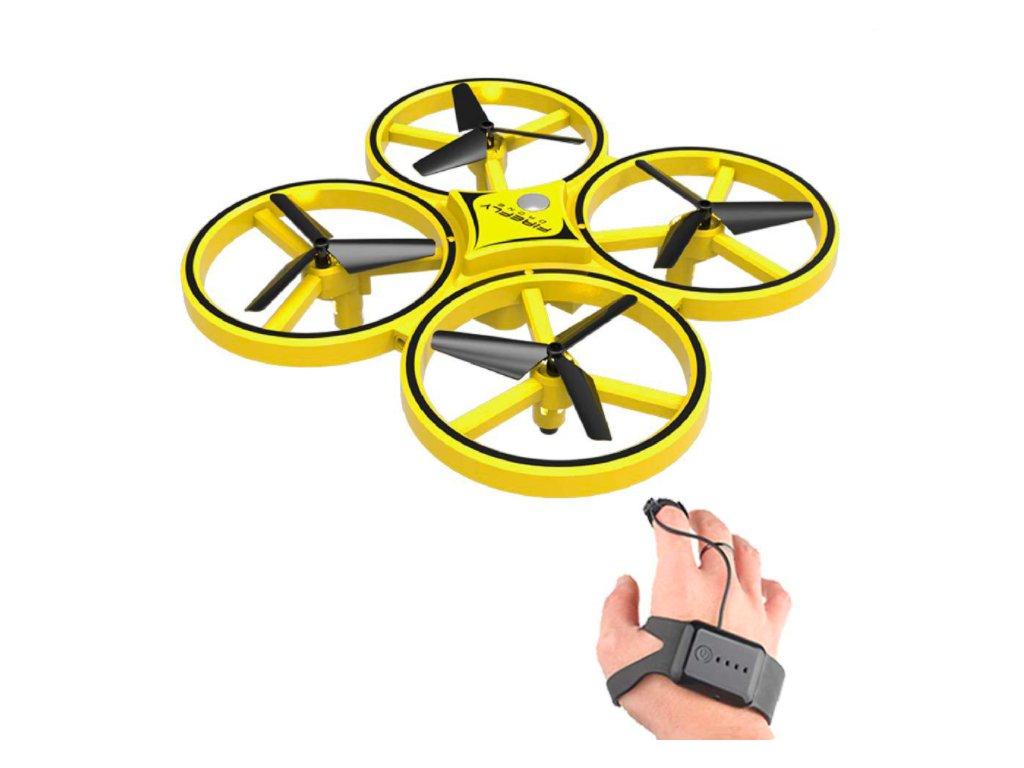 Dron ovládaný gesty