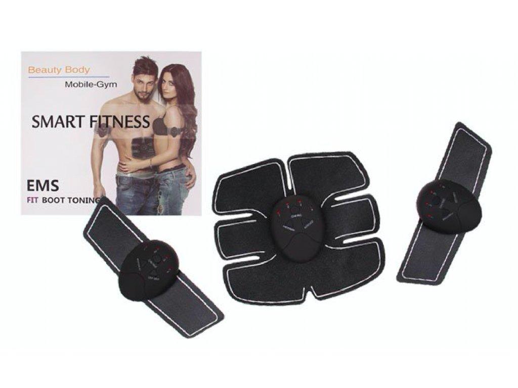 Stimulátor na bříšní svaly a ruce