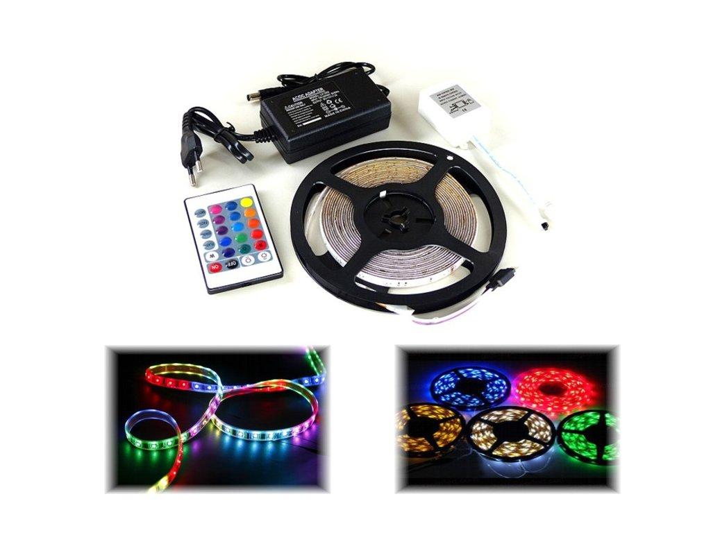 RGB LED pásek