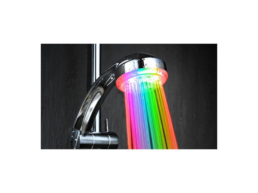 Svítící sprcha