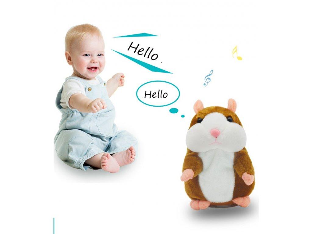 interaktivni mluvici křeček